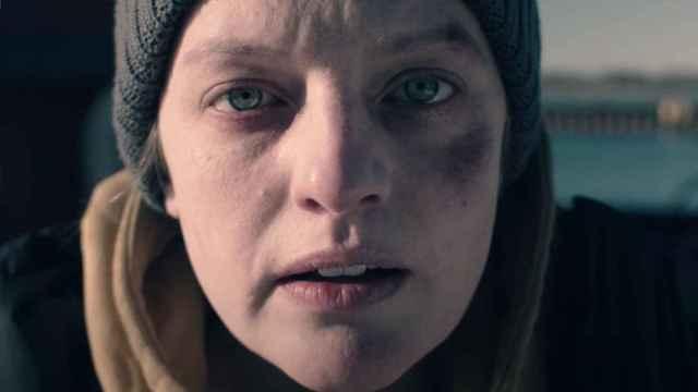 Elisabeth Moss en la cuarta temporada de 'El cuento de la criada'.