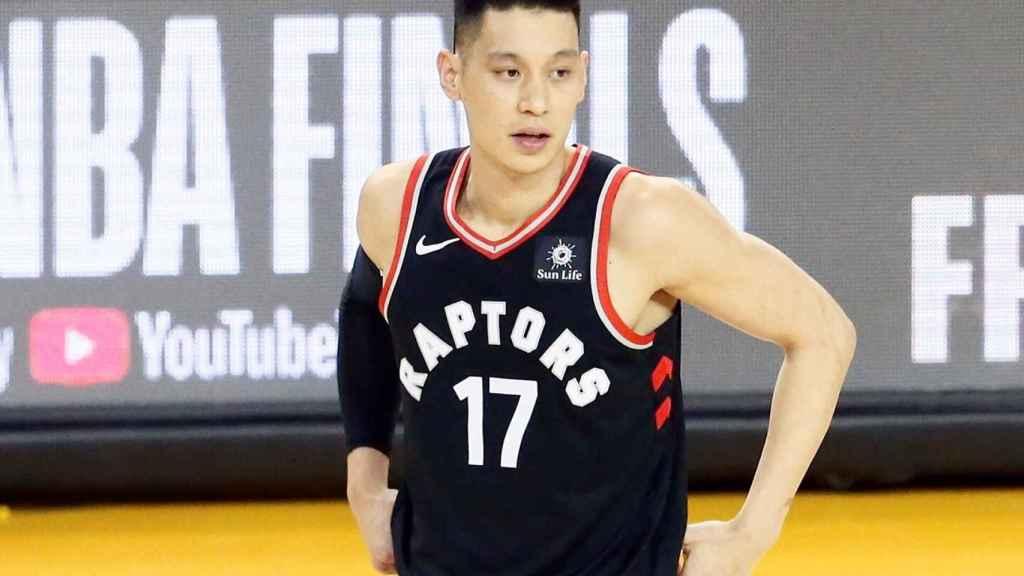 Jeremy Lin con los Raptors