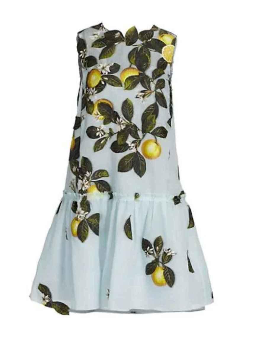 El vestido de Oscar de la Renta que lució Meghan Markle.