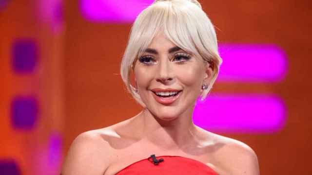 Lady Gaga, durante una filmación en la BBC.