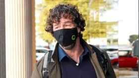 Nacho Palau, el pasado mes de octubre, a su llegada a los juzgados de Pozuelo de Alarcón.