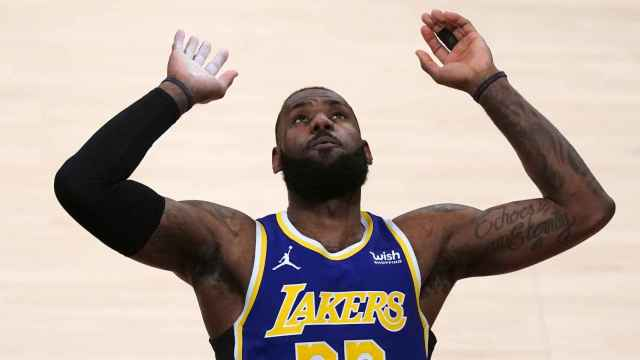 LeBron James, con Los Angeles Lakers
