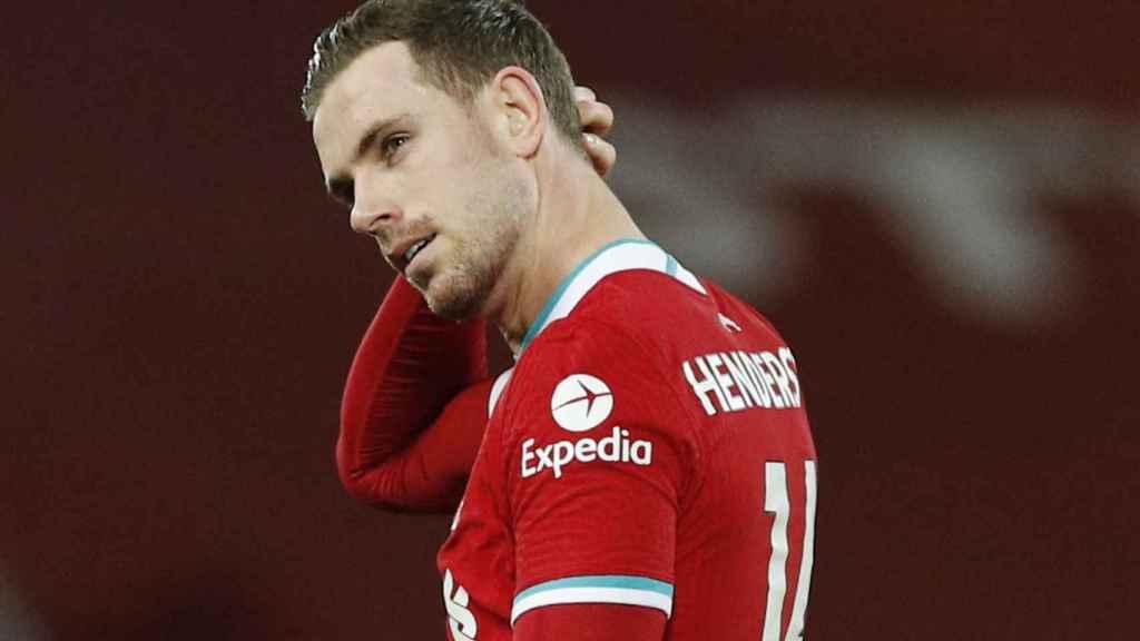 Henderson con el Liverpool