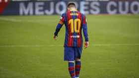 Messi, cabizbajo