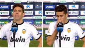 Gabriel Paulista se derrumba al hablar de un posible descenso del Valencia