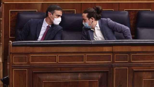 Pedro Sánchez y Pablo Iglesias, en una imagen de archivo.