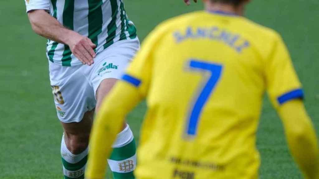 Sergio Canales, durante el Cádiz - Betis de la jornada 25 de La Liga