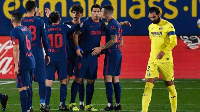 Las mejores imágenes del Villarreal - Atlético de Madrid de La Liga