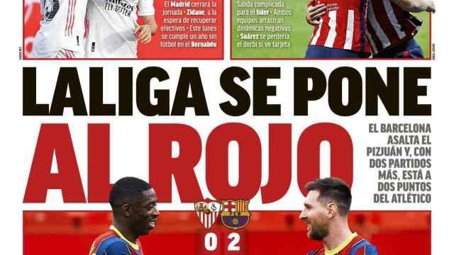 La portada del Diario MARCA (28/02/2021)