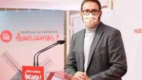 El secretario de Organización del PSOE de Castilla-La Mancha y diputado nacional, Sergio Gutiérrez