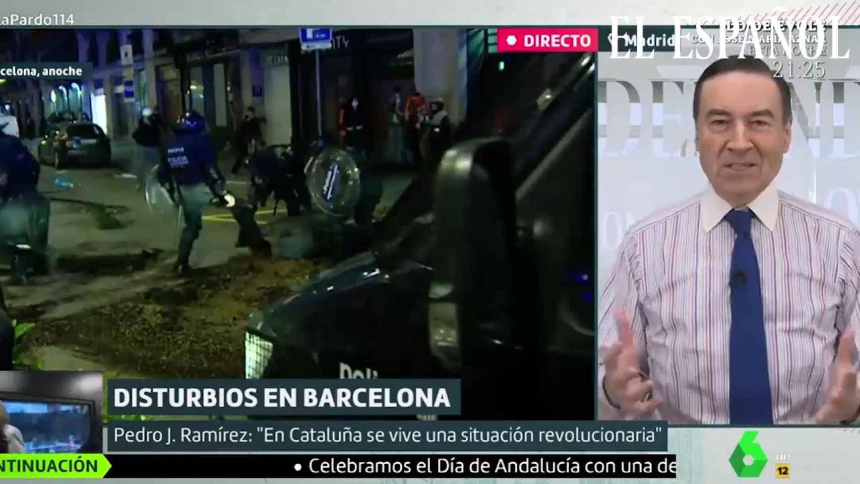 PJ en Liarla Pardo: El Rey emérito y Cataluña