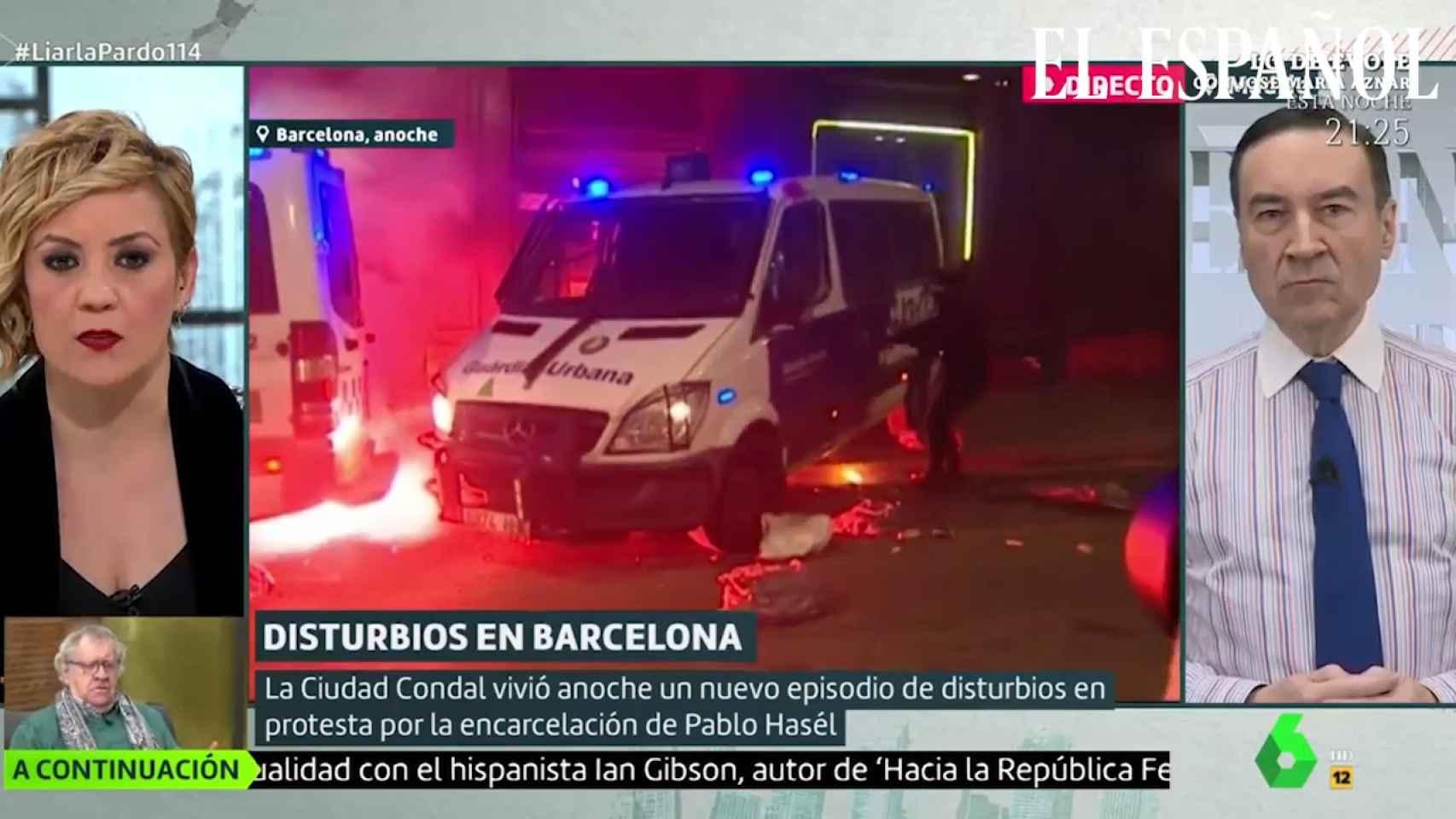 Pedro J. Ramírez en 'Liarla Pardo' sobre los disturbios en Cataluña