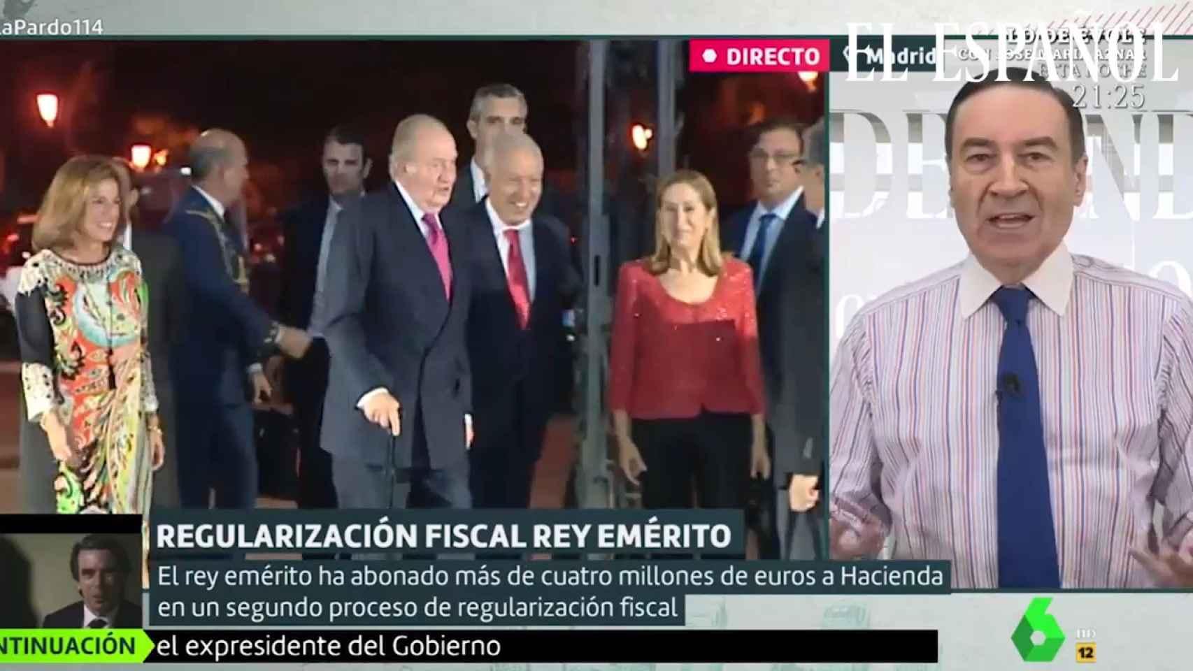 Pedo J. Ramírez en 'Liarla Pardo' sobre el Rey Emérito