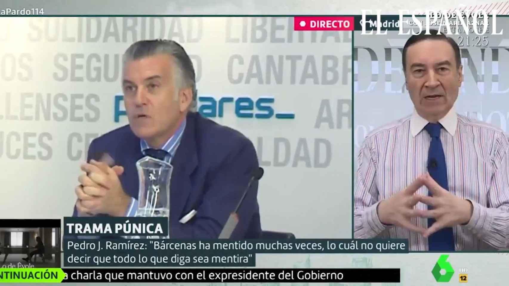 Pedro J. Ramírez en 'Liarla Pardo' sobre Bárcenas