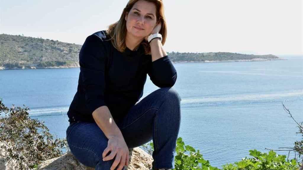 Sofía Bekatoru, la medallista olímpica griega que ha iniciado el movimiento MeToo en su país.