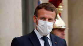 El presidente francés Emmanuel Macron.