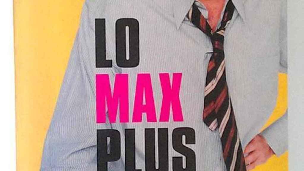 Imagen de Máximo Pradera en la portada del libro sobre el programa que le encumbró.