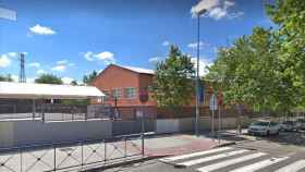 El Colegio Manuel Vázquez Montalbán de Leganés, uno de los más afectados.