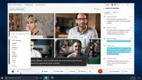 Imagen de una videoconferencia a través de Cisco Webex con interpretación instantánea