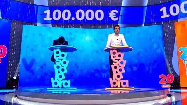 'Pasapalabra', lo más visto domingo con casi tres millones