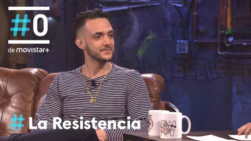 El cantante ha estado en tres ocasiones en 'La resistencia'.