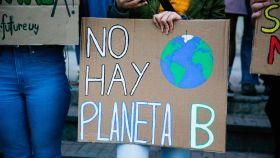 Imagen de archivo de una protesta contra el cambio climático.