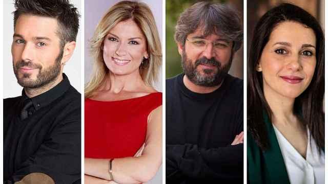 Dani Martínez, Sandra Golpe, Jordi Évole e Inés Arrimadas.
