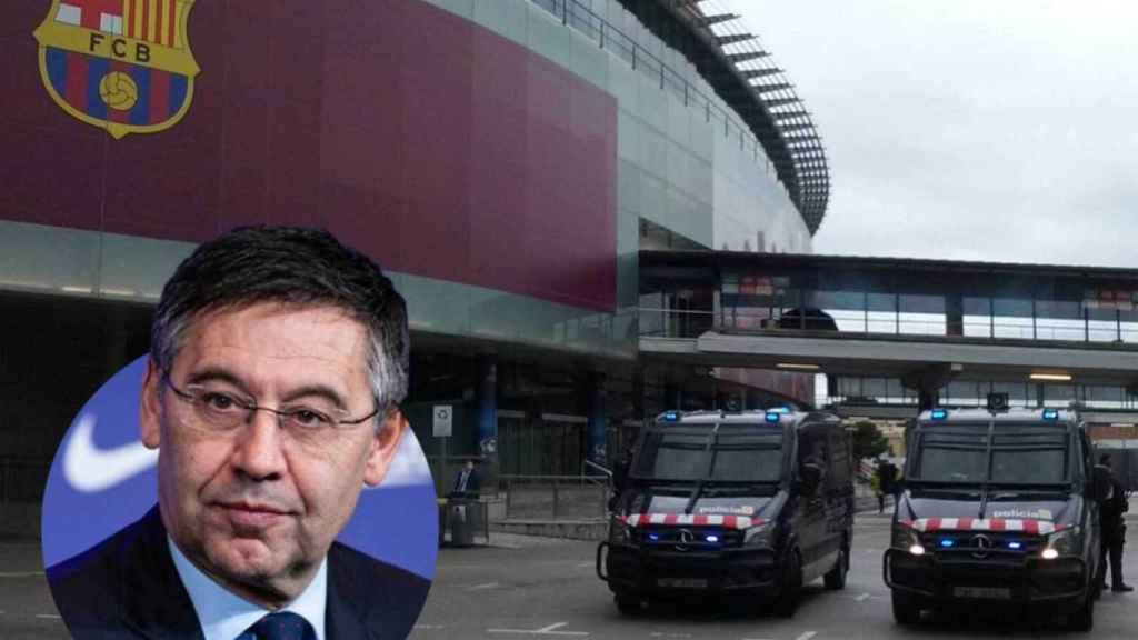 Josep María Bartomeu, detenido por los Mossos en la investigación sobre el BarçaGate