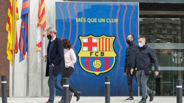 La detención de Bartomeu y los registros en el Camp Nou, en imágenes