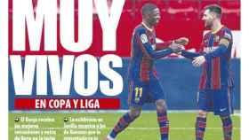 La portada del diario Mundo Deportivo (01/03/2021)