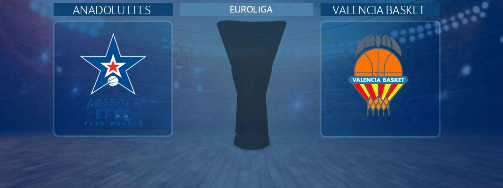 Anadolu Efes - Valencia Basket, partido de la Euroliga