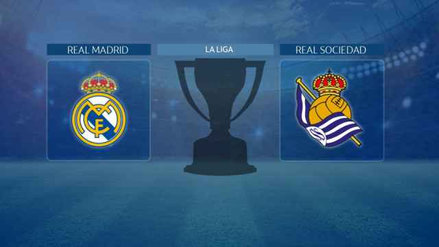 Streaming en directo | Real Madrid - Real Sociedad (La Liga)