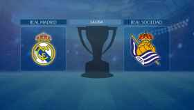 Streaming en directo | Real Madrid - Real Sociedad (La Liga)