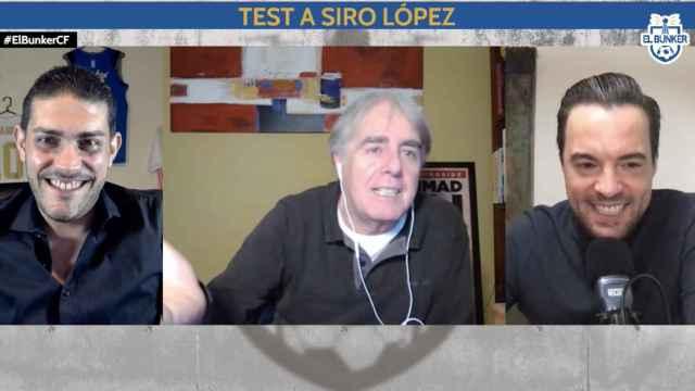 Jorge Calabrés, Siro López y Nacho Peña