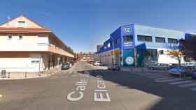 La calle Juan Sebastían el Cano de Talavera, donde han ocurrido los hechos (Google Maps)
