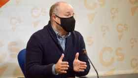 Alejandro Ruiz, presidente del grupo parlamentario Ciudadanos en las Cortes de Castilla-La Mancha