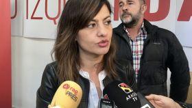 Sira Rego, portavoz de la dirección federal de IU.