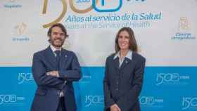 Jorge Prim y Lucía Comenge, vicepresidente y presidenta grupo Prim.