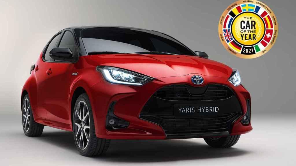 El Toyota Yaris gana el premio Coche del Año en Europa 2021.