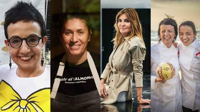 Las cinco chefs que aparecen en el famoso anuncio con más estrellas.