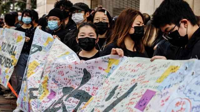 Las protestas en Hong Kong.