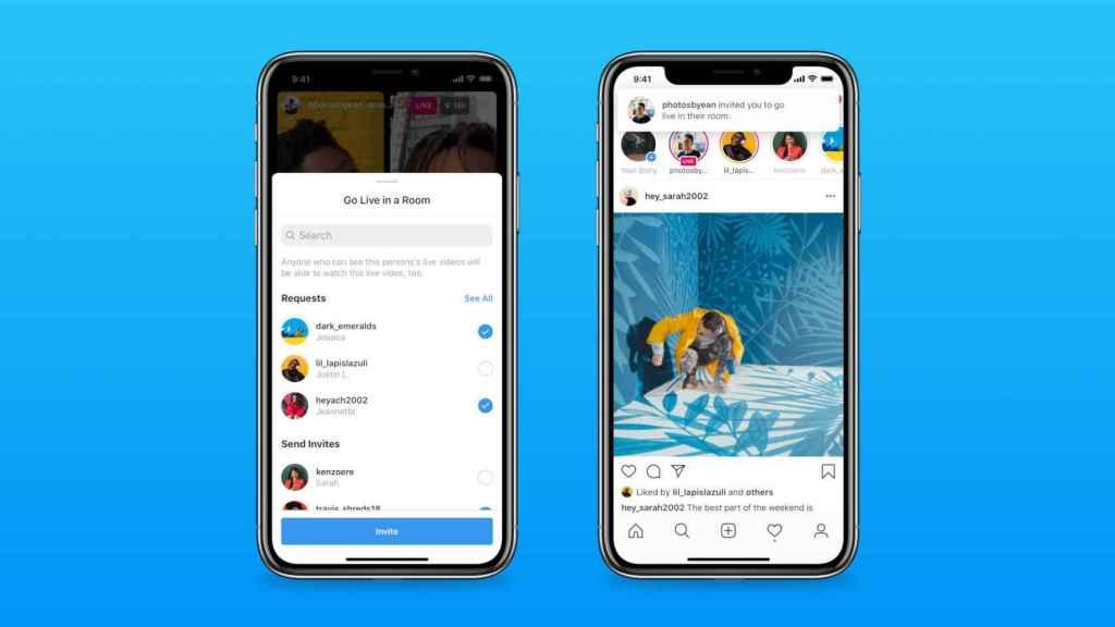 Los nuevos directos de Instagram se pueden crear desde la app