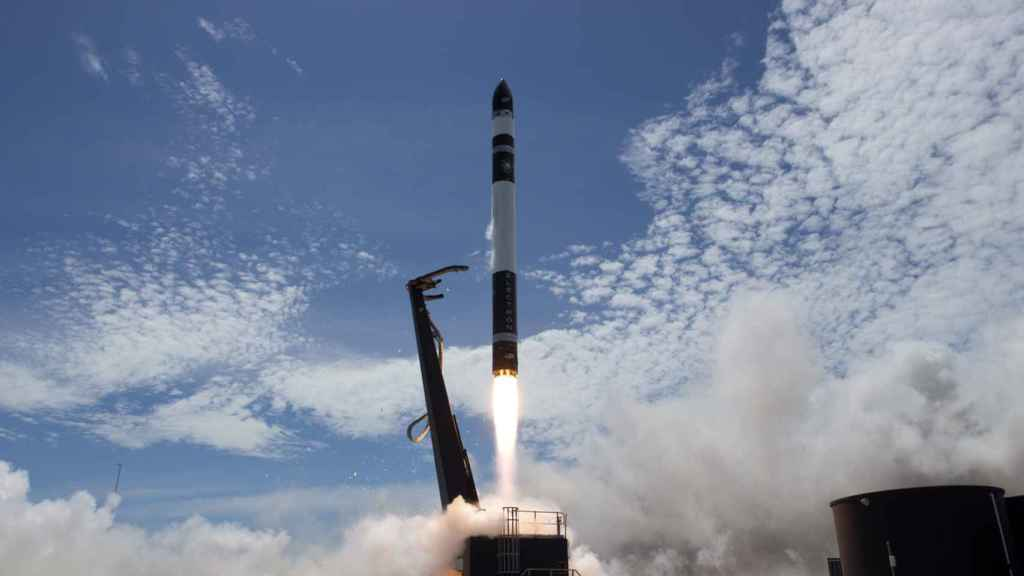 Cohete de Rocket Lab