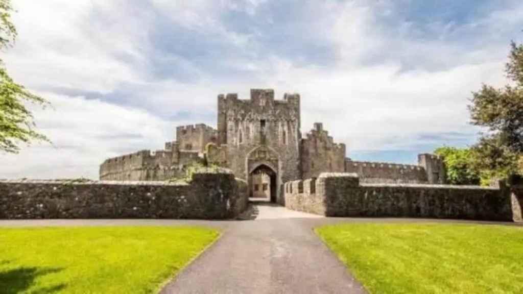 Una imagen de la entrada del exclusivo colegio de Leonor en Gales.