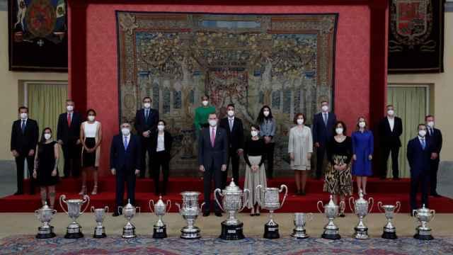 Todos los galardonados en los Premios Nacionales del Deporte 2018