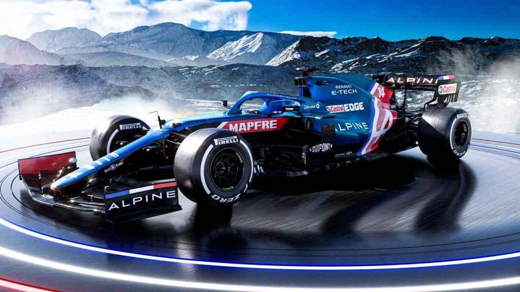 Así es el nuevo Alpine A521 de Fernando Alonso y Esteban Ocon