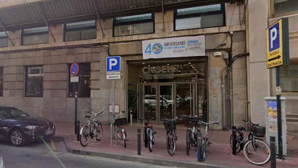 La sede de la patronal Croem está en el centro urbano de Murcia cerca del Palacio de San Esteban.