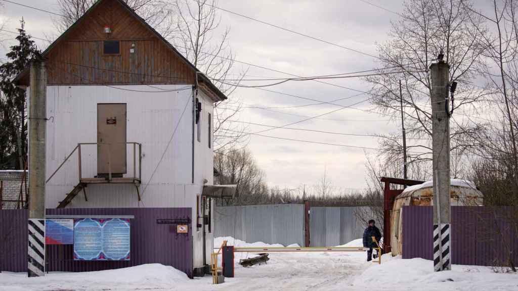 Vista general de la Colonia Penitenciaria Nº 2, donde está encarcelado Navalni.