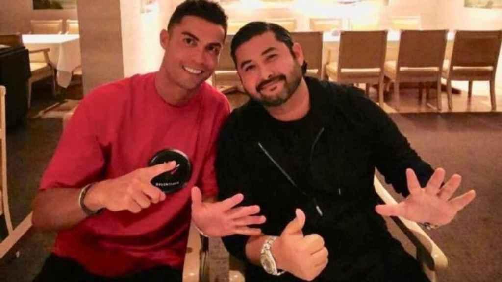 Cristiano Ronaldo y el príncipe de Johor