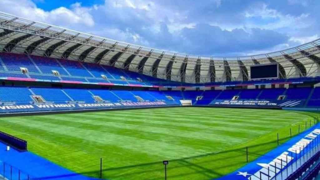 El nuevo estadio del Johor FC